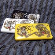 風神雷神 和柄財布